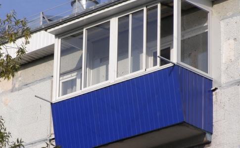Остекление и капитальный ремонт балкона кривой рог - строим .